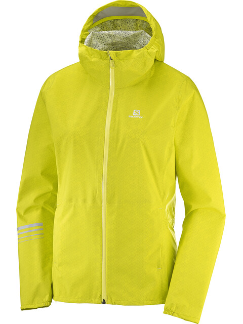 Salomon W's Lightning WP Jacket Sulphur Spring